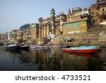 ghats in ancient city of... | Shutterstock . vector #4733521
