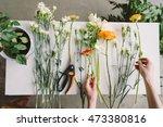 Florist Workspace  Young Prett...