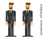 businessman  investor  boss.... | Shutterstock .eps vector #473428612