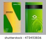 business card template  | Shutterstock .eps vector #473453836