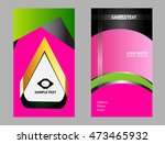 business card template. elegant ...   Shutterstock .eps vector #473465932