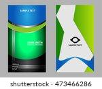 business card template  | Shutterstock .eps vector #473466286
