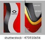 business card template  | Shutterstock .eps vector #473510656