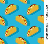 Taco Seamless Pattern....