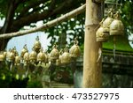 many bells at temples in... | Shutterstock . vector #473527975