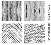 net pattern. rope net vector... | Shutterstock .eps vector #473547178