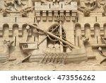 detail of the palais des... | Shutterstock . vector #473556262