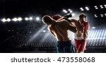 box professional match . mixed... | Shutterstock . vector #473558068