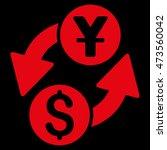 dollar yuan exchange icon....   Shutterstock . vector #473560042