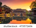Fenghuang Ancient Town. Locate...