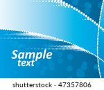 abstract lines background | Shutterstock .eps vector #47357806