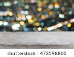empty space desk and copy space ... | Shutterstock . vector #473598802