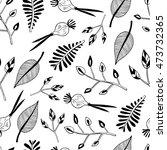 plants leaves pattern | Shutterstock .eps vector #473732365