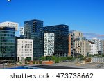 amazing oslo buildings and... | Shutterstock . vector #473738662