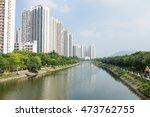 apartment building in hong kong   Shutterstock . vector #473762755