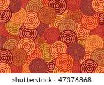 vector pattern including ethnic ... | Shutterstock .eps vector #47376868