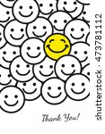 thank you greeting   Shutterstock . vector #473781112