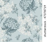Retro Floral Pattern With...