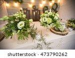 fresh eustoma roses bouquet... | Shutterstock . vector #473790262