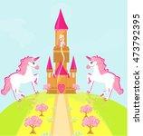 illustration of princess  in... | Shutterstock . vector #473792395