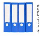 office document folders close...   Shutterstock . vector #47382928