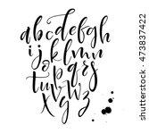 hand drawn vector black...   Shutterstock .eps vector #473837422