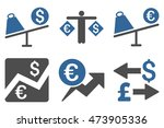 currency trading vector icons.... | Shutterstock .eps vector #473905336