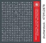big icon set industry... | Shutterstock .eps vector #473912878
