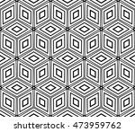 cyclical pattern of geometric... | Shutterstock .eps vector #473959762
