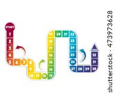 Rainbow Board Game....