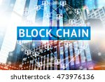 Block Chain Network Concept  ...