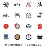 car service web icons for user... | Shutterstock .eps vector #473986192