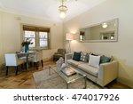 beautiful living room  | Shutterstock . vector #474017926