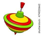 humming top | Shutterstock .eps vector #474020662