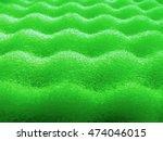 foam cushioning sponge green... | Shutterstock . vector #474046015