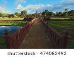 sukhothai historical park in... | Shutterstock . vector #474082492