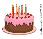cake | Shutterstock .eps vector #474096118