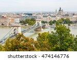 chain bridge  budapest  hungary | Shutterstock . vector #474146776