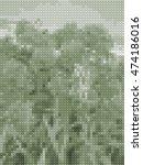abstract dark background    ... | Shutterstock . vector #474186016
