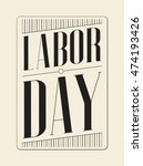 labor day. | Shutterstock .eps vector #474193426