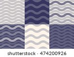 Vector Set Of Six Abstract...