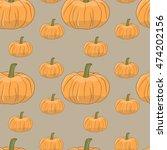 vector seamless pattern.... | Shutterstock .eps vector #474202156