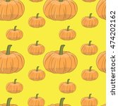 vector seamless pattern.... | Shutterstock .eps vector #474202162
