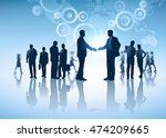 business group. concept... | Shutterstock .eps vector #474209665