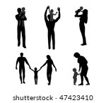 family | Shutterstock .eps vector #47423410