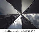 background open  gray black ... | Shutterstock . vector #474254512