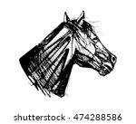 hand drawn vector illustration... | Shutterstock .eps vector #474288586