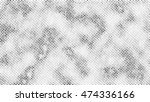 halftone distress abstract... | Shutterstock .eps vector #474336166