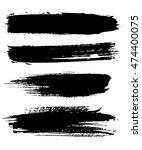 abstract art. grunge background.... | Shutterstock .eps vector #474400075