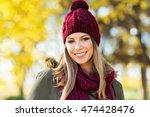 closeup portrait of gorgeous... | Shutterstock . vector #474428476
